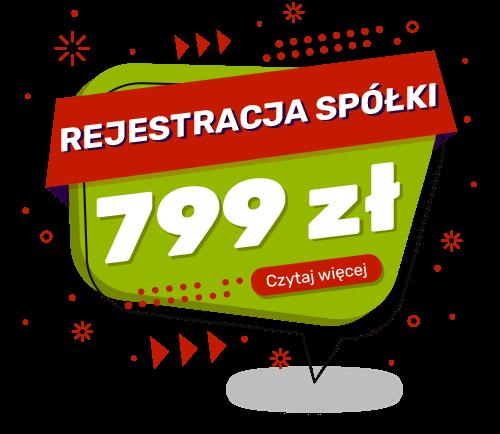 Rejestracja spółki Kraków cennik