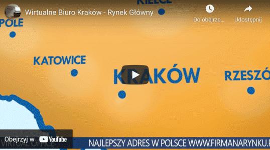 Youtube Wirtualnego biura Kraków